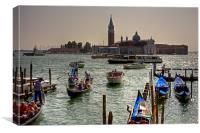 Giudecca Canal, Canvas Print