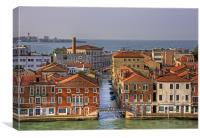 Ponte Picolo, Canvas Print