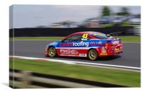 Touring Cars - Wood 43, Canvas Print
