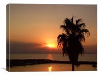 Sunset in Side,Turkey