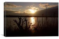 Sunset over Pennington Flash