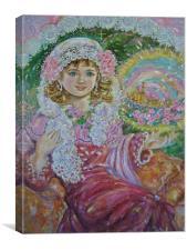 The princess of the saint paulia.