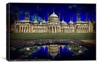 Brighton's Royal Pavilion, Canvas Print