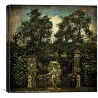 Hope Arrives At The Garden Gate, Canvas Print
