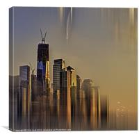 Freedom Tower Abstract, Canvas Print