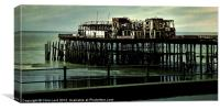 Hastings Pier, Canvas Print