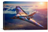 The Last Vulcan, Canvas Print