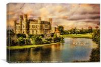 Leeds Castle Landscape, Canvas Print