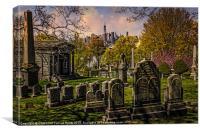 Brooklyn Necropolis, Canvas Print