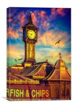 Welcome to Brighton, Canvas Print
