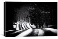 The Long and Winding Road, Canvas Print