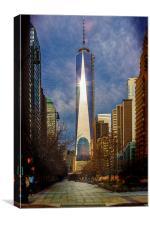 One World Trade Center, Canvas Print