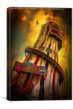 Helter Skelter, Canvas Print