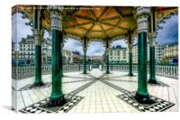 On The Bandstand, Canvas Print