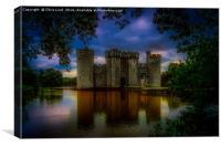 Bodium Castle, Canvas Print