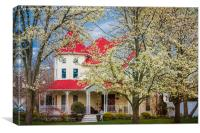 Springtime At The House On The Corner