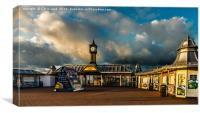 Too Early For Fish & Chips, Canvas Print