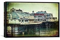 Brighton's Victorian West Pier, Canvas Print