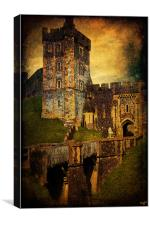 Portal To The Castle, Canvas Print