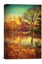 Autumn in Central Park, Canvas Print