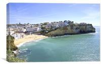 Carvoeiro Beach Portugal, Canvas Print