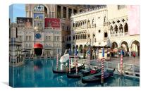 The Venetian Las Vegas, Canvas Print