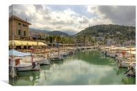 Port De Soller Mallorca, Canvas Print