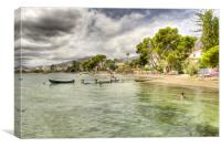 Puerto Pollensa Beach, Canvas Print