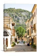 Pollensa Backstreet, Canvas Print