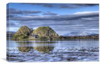 Dumbarton Rock , Canvas Print
