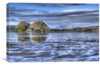 Dumbarton Rock On The Clyde, Canvas Print