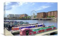 Liverpool Docklands, Canvas Print