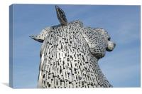 The Kelpies Falkirk, Canvas Print