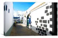 Rubicon Playa Blanca, Canvas Print