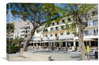Hotel Miramar Puerto Pollensa, Canvas Print