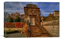 Pollok Country House Garden Building, Canvas Print