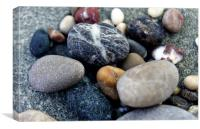 Aegean pebbles, Canvas Print