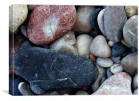 Pebbles from the Aegean, Canvas Print