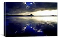 Reflections of the mount, Canvas Print