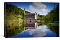 Industrial reflections of Gibson Mill