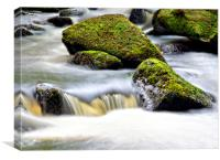The river Hebden, Hardcastle Crags