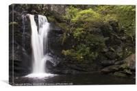 Inversnaid Waterfall, Canvas Print