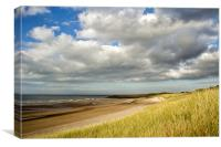 Deserted Beach, Canvas Print