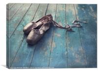 danced, Canvas Print