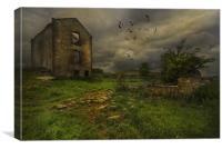 Beyond Redemption, Canvas Print