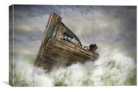 Adrift, Canvas Print