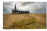 The Old Pier, Canvas Print