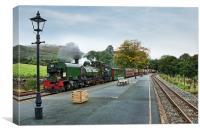 Welsh Highland Railway, Canvas Print