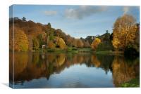 Shades of Autumn, Canvas Print