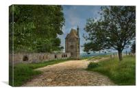 The Pigeon tower - Rivington, Canvas Print
